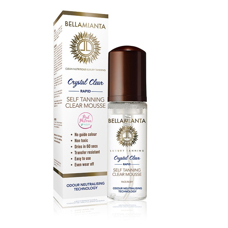 Bellamianta Self Tanning Crystal Clear Mousse