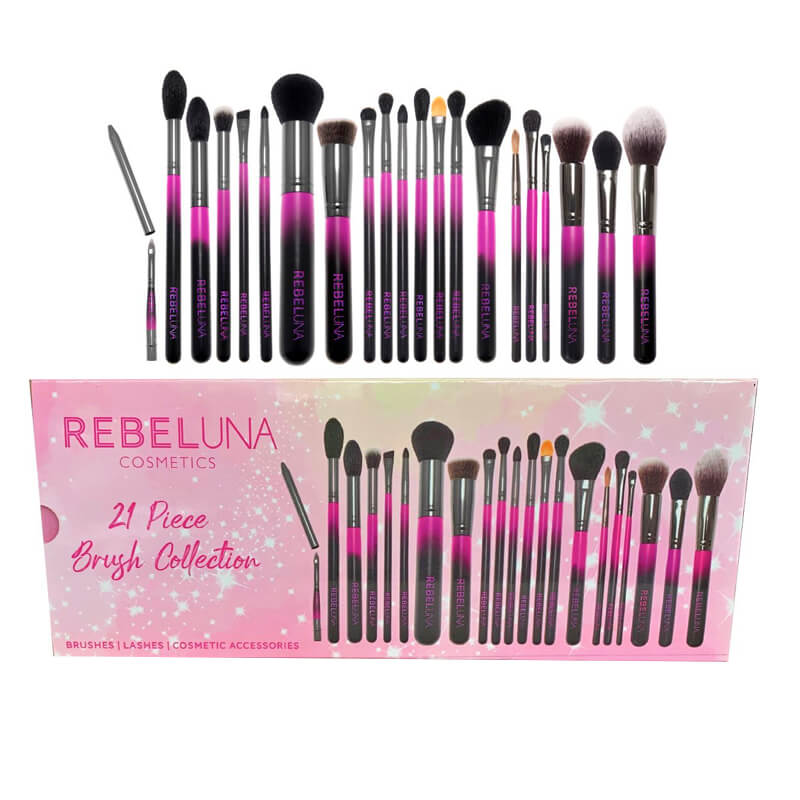 Rebeluna 21 Piece Brush Set