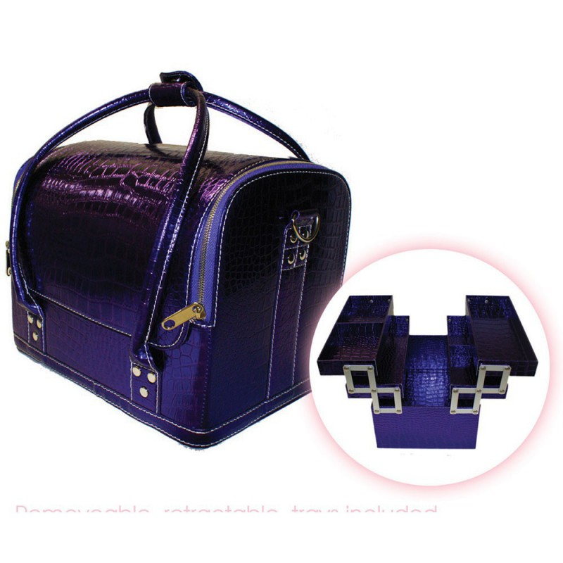 Hair Tools Purple Case